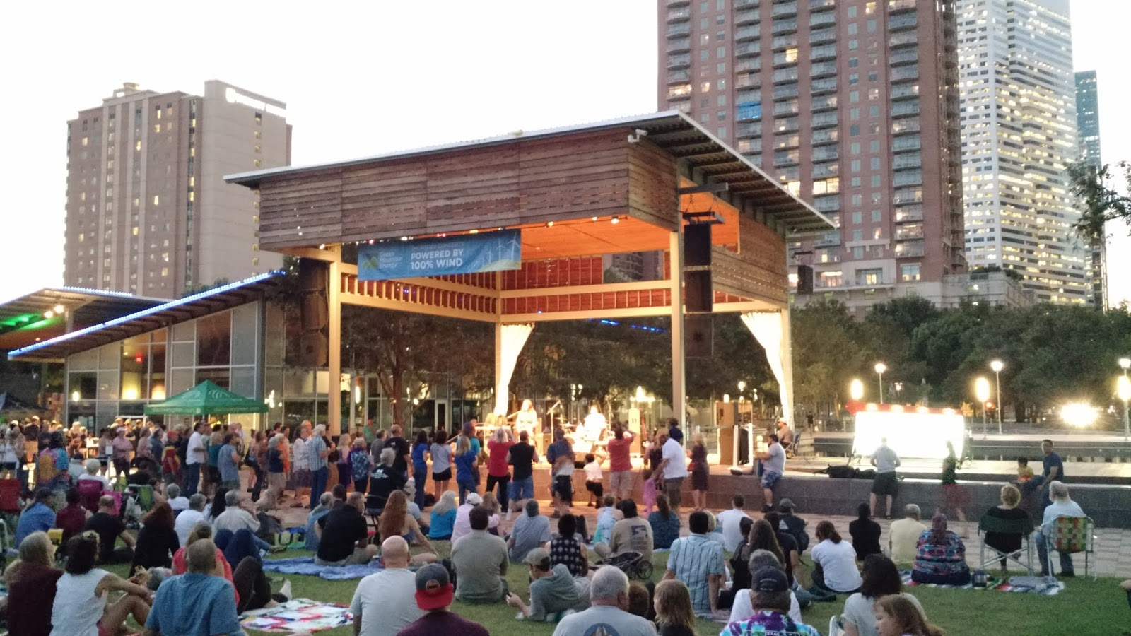 Discovery Green's Thursday Night Concerts