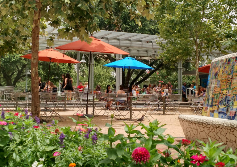 Explore Houston's Market Square Park