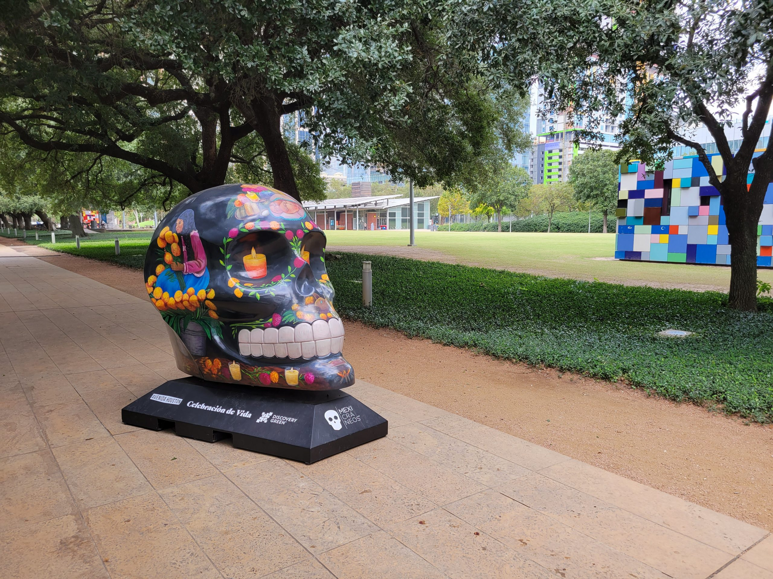 Read more about the article Discovery Green's Day of the Dead Celebration